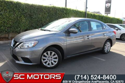 2017 Nissan Sentra for sale at SC Motors in Placentia CA