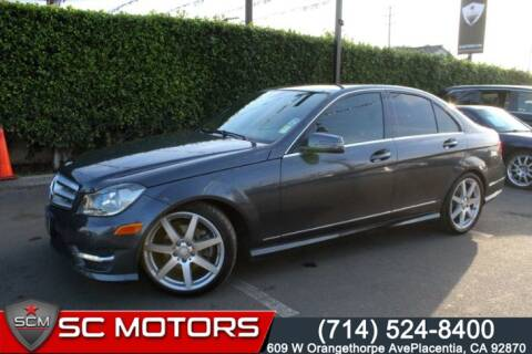 2013 Mercedes-Benz C-Class for sale at SC Motors in Placentia CA