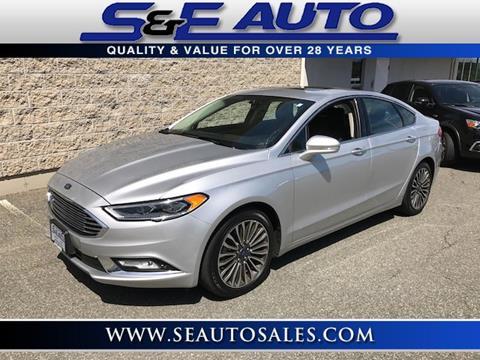 2017 Ford Fusion for sale in Walpole, MA