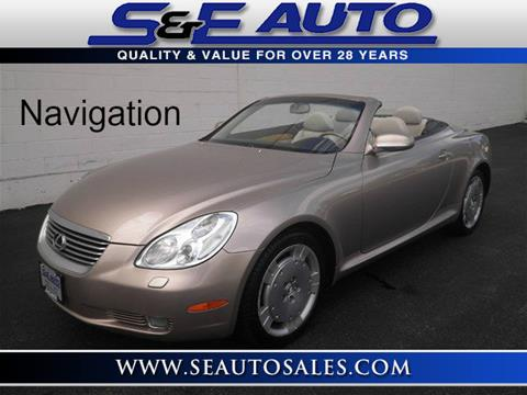 2002 Lexus SC 430 for sale in Walpole, MA