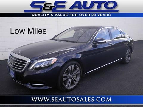 2015 Mercedes-Benz S-Class for sale in Walpole, MA