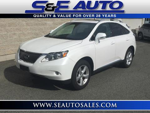 2011 Lexus RX 350 for sale in Walpole, MA
