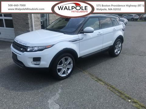 2015 Land Rover Range Rover Evoque for sale in Walpole, MA