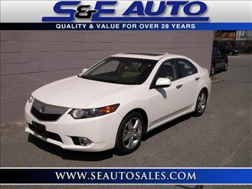 2011 Acura TSX for sale in Walpole, MA
