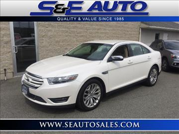 2016 Ford Taurus for sale in Walpole, MA