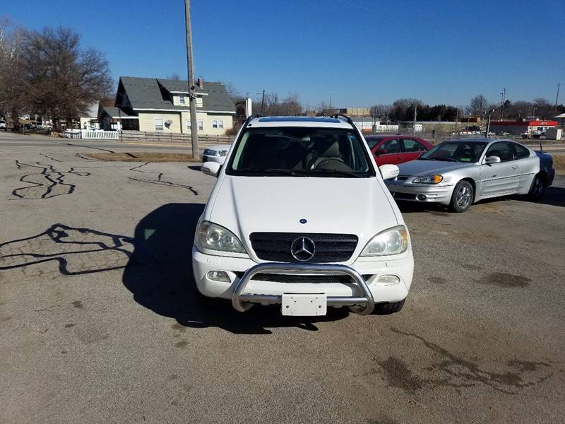 2003 Mercedes-Benz M-Class for sale at Carr's Cars in Eagle NE
