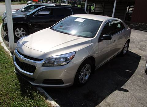 2015 Chevrolet Malibu for sale at Duncan Cars in Switz City IN