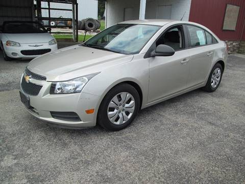 2013 Chevrolet Cruze for sale at Duncan Cars in Switz City IN