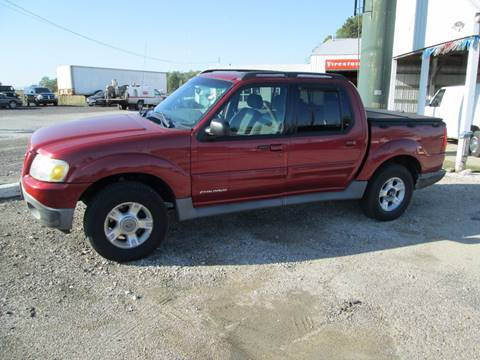 2001 Ford Explorer Sport Trac for sale at Duncan Cars in Switz City IN