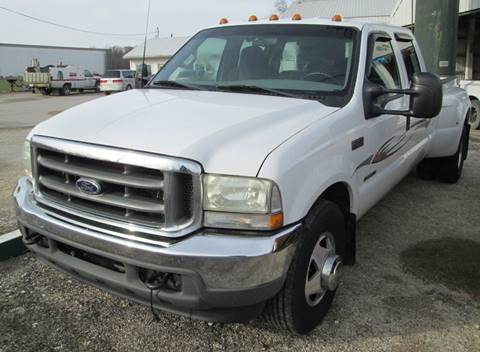 2002 Ford F-350 Super Duty for sale at Duncan Cars in Switz City IN