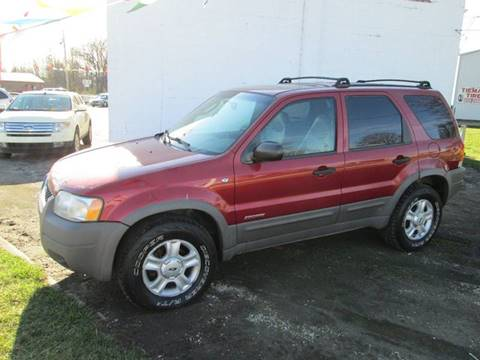 2001 Ford Escape for sale at Duncan Cars in Switz City IN