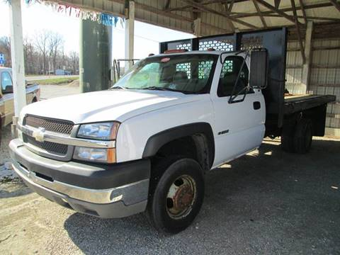 2003 Chevrolet Silverado 3500HD for sale at Duncan Cars in Switz City IN