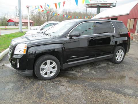 2014 GMC Terrain for sale at Duncan Cars in Switz City IN