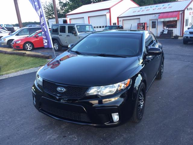 2011 Kia Forte Koup SX 2dr Coupe 6A - Spencer IN
