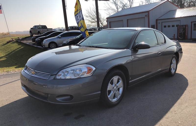 2007 chevrolet monte carlo ls 2dr coupe in spencer in lovett used cars inc. Black Bedroom Furniture Sets. Home Design Ideas