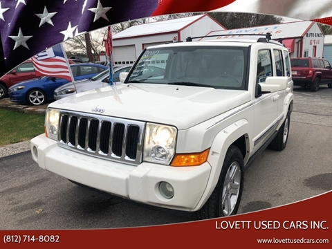 2010 Jeep Commander for sale in Spencer, IN
