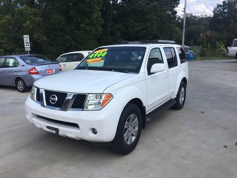 2005 Nissan Pathfinder For Sale At MD Auto Sales LLC In Dalton GA