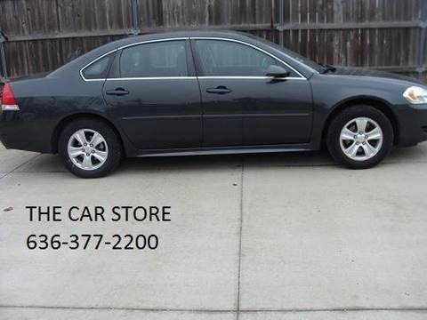 5d2d43f6349 2014 Chevrolet Impala Limited for sale at THE CAR STORE WARRENTON in  Warrenton MO