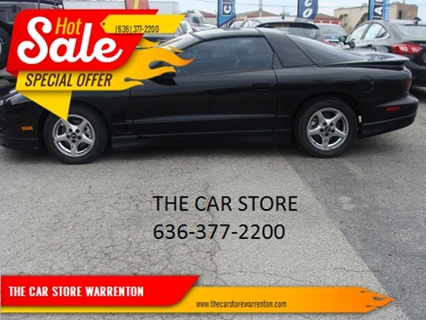 2002 Pontiac Firebird for sale in Warrenton, MO