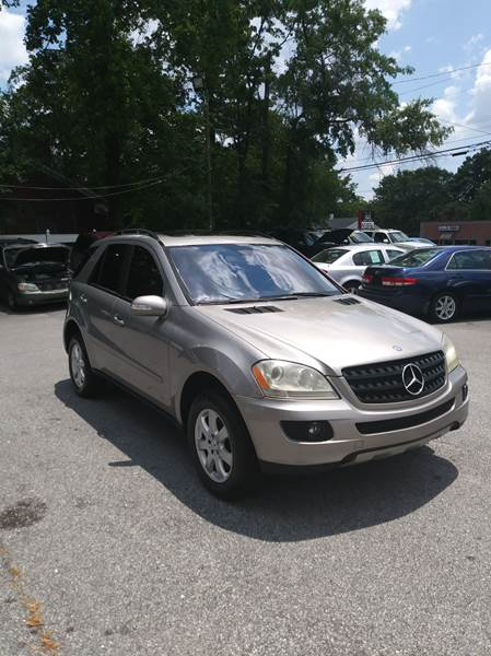 2006 Mercedes Benz M Class Awd Ml 350 4matic 4dr Suv In Greer Sc