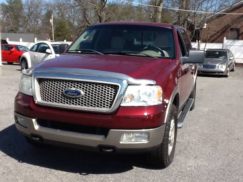 2004 Ford F-150 4dr SuperCrew Lariat 4WD Styleside 5.5 ft. SB - Greer SC