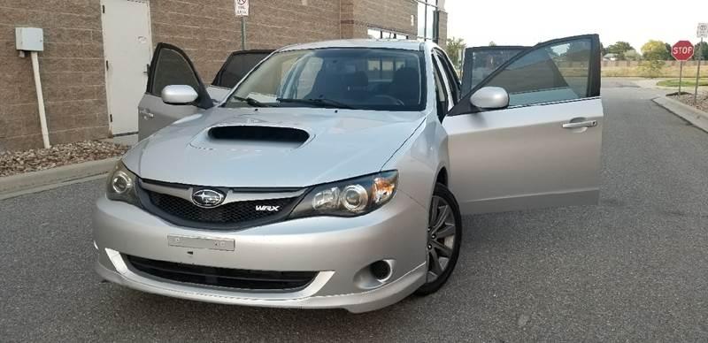 2010 Subaru Impreza Awd Wrx Premium 4dr Sedan In Aurora Co La