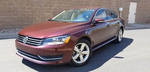 2012 Volkswagen Passat for sale at LA Motors LLC in Denver CO