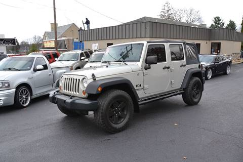 2007 Jeep Wrangler Unlimited for sale in Lancaster, PA