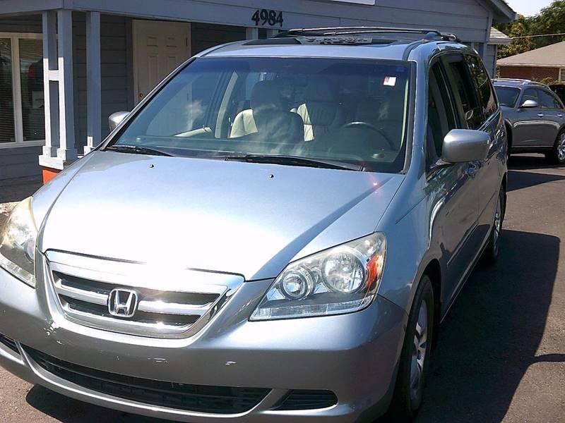2007 Honda Odyssey EX L w/DVD 4dr Mini Van