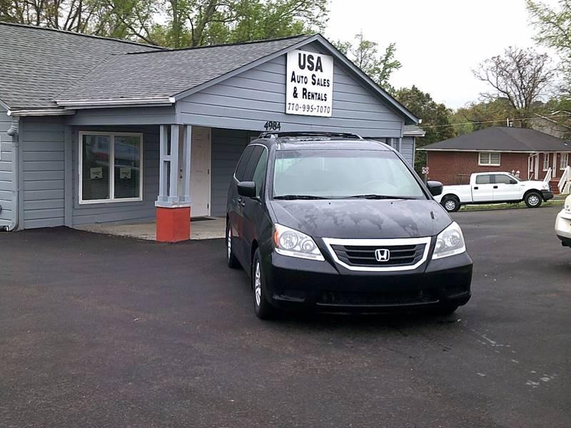 2010 Honda Odyssey EX-L w/DVD 4dr Mini Van w/DVD