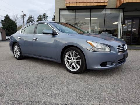 2012 Nissan Maxima 3.5 S for sale at Ron's Used Cars in Sumter SC