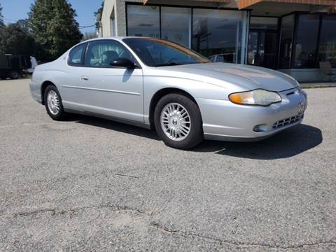 2001 Chevrolet Monte Carlo LS for sale at Ron's Used Cars in Sumter SC