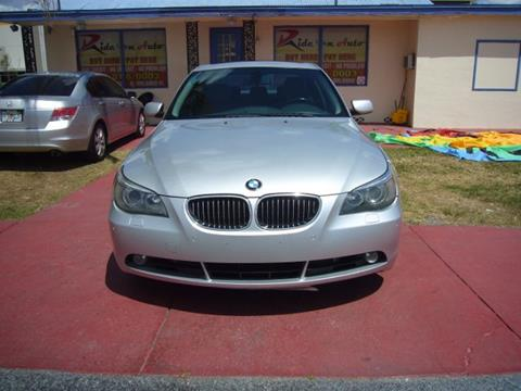 2005 BMW 5 Series for sale in Orlando, FL