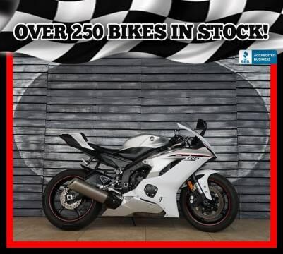 2018 Yamaha YZF-R6 for sale at AZautorv.com in Mesa AZ