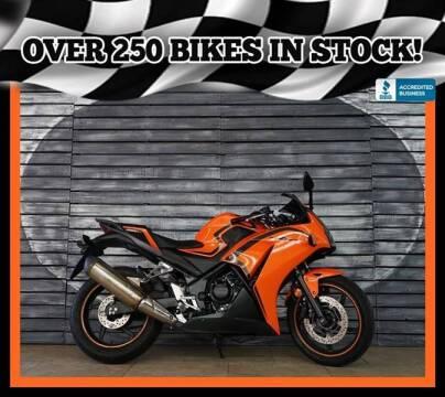 2016 Honda CBR300R for sale at AZautorv.com in Mesa AZ