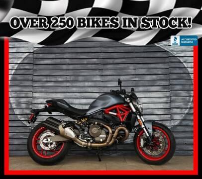 2017 Ducati Monster 821 for sale at AZautorv.com in Mesa AZ