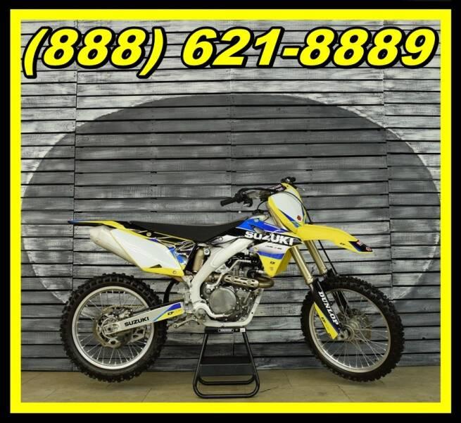 2015 Suzuki RM-Z450 for sale at AZautorv.com in Mesa AZ