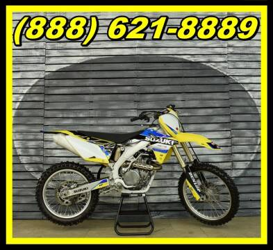 2015 Suzuki RM-Z450 for sale at AZautorv.com in Mesa AZ