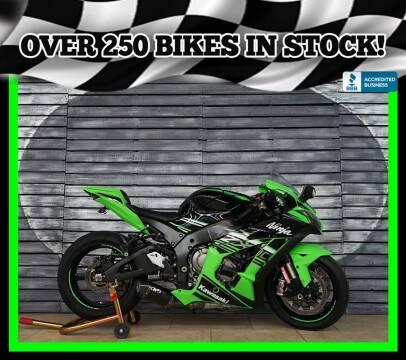 2016 Kawasaki Ninja ZX-10R for sale at AZautorv.com in Mesa AZ