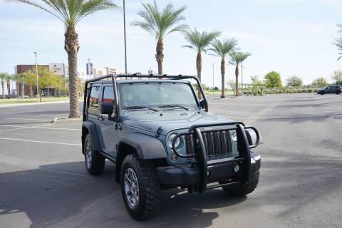 2014 Jeep Wrangler for sale at AZautorv.com in Mesa AZ