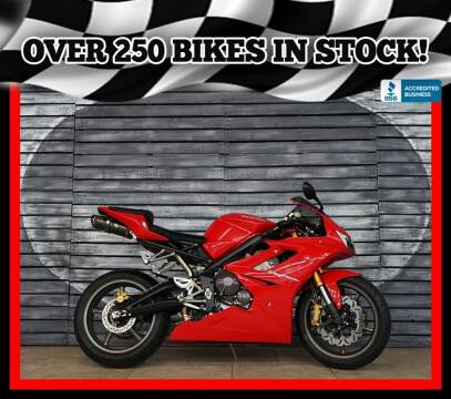 2007 Triumph Daytona 675 for sale at AZautorv.com in Mesa AZ