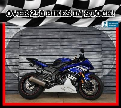 2016 Yamaha YZF-R6 for sale at AZautorv.com in Mesa AZ