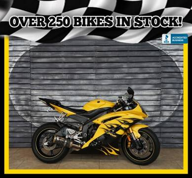 2008 Yamaha YZF-R6 for sale at AZautorv.com in Mesa AZ