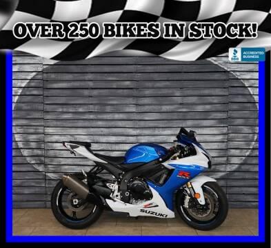 2014 Suzuki GSX-R750 for sale at AZautorv.com in Mesa AZ
