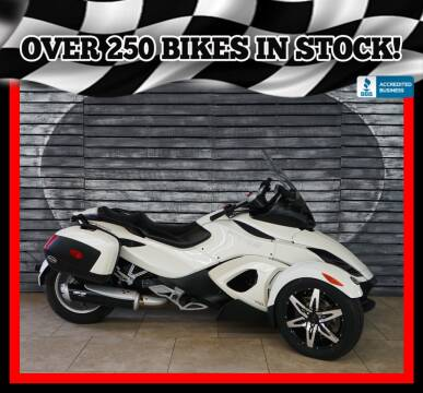 2010 Can-Am Spyder RS SE5 for sale at AZautorv.com in Mesa AZ