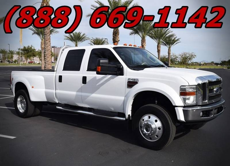 Image 4 of 2008 Ford F-450 Lariat…