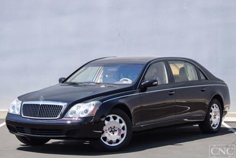 2004 Maybach 62 for sale in Ontario, CA