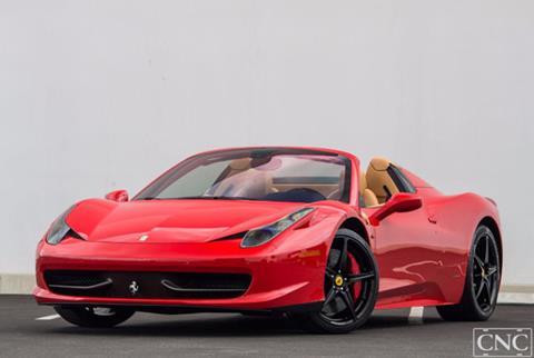 2014 Ferrari 458 Spider for sale in Ontario, CA