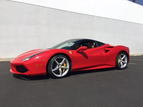 2016 Ferrari 488 GTB for sale in Ontario, CA