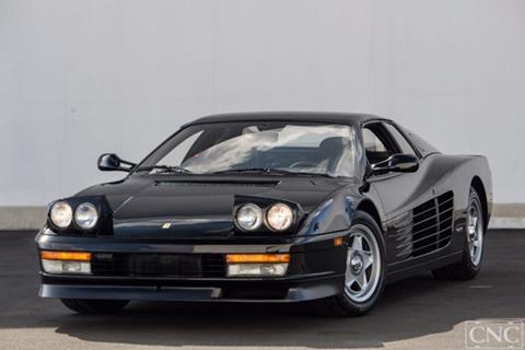 1987 Ferrari Testarossa for sale in Ontario, CA